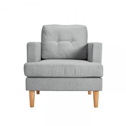 Brown Single Sofa